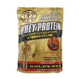 ゴールドジム(GOLD'S GYM) ホエイプロテイン チョコレート1500g F5515 計量スプ...