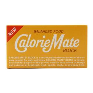 カロリーメイト(CalorieMate) カロリーメイト ブロック 2本入 プレーン味 (メンズ、レ...