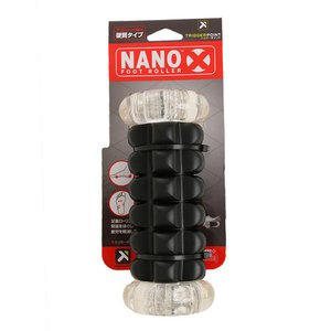●革新的なコンパクト設計 ナノX フットローラー。足裏筋群の癒着やコリなどの問題がある部分に使用する...