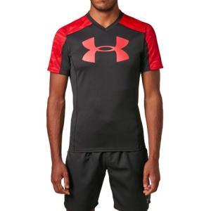 アンダーアーマー(UNDER ARMOUR) ラグビープラクティスTシャツ #1312828 BLK...