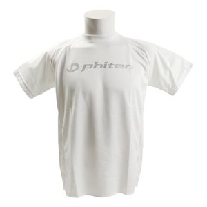 ファイテン(PHITEN) 【ゼビオグループ限定】 半袖Tシャツ 切替ロゴ 3118JG30020 ...