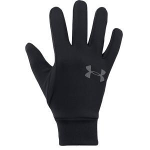 アンダーアーマー(UNDER ARMOUR) コールドギア 手袋 アーマーライナー2.0 1318546 BLK/GPH タッチパネル対応 防寒用 (メンズ)|SuperSportsXEBIO PayPayモール店