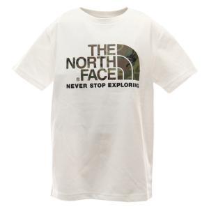 ノースフェイス(THE NORTH FACE) tシャツ 半袖 ジュニア ショートスリーブカモロゴテ...