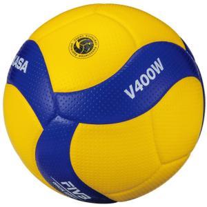 ミカサ(MIKASA) バレーボール 4号球 (中学校用・家庭婦人用) 検定球 V400W (Lad...