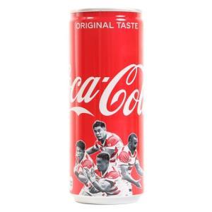 コカ コーラ 缶 250ml ラグビー選手限定デザイン