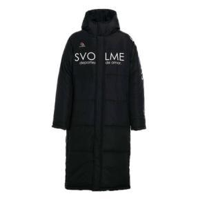 スヴォルメ(SVOLME) 発熱中綿ベンチコート 1193-34704BK