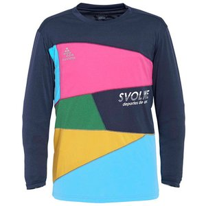 スボルメ(SVOLME) ランニング Tシャツ メンズ 長袖 パッチワークロング シャツ 7193-...