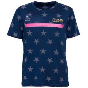 スボルメ(SVOLME) Tシャツ レディース 半袖 スターリフレクターランニングシャツ 7193-...