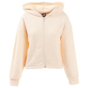 プーマ PUMA FUSION 裏起毛スウェットジャケット 581795 89 OWHT Lady's の商品画像|ナビ