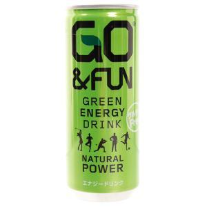 GO&FUN エナジードリンク GREEN ENERGY DRINK250ml (Men's、Lad...