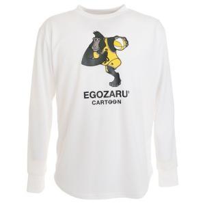 エゴザル(EGOZARU) Tシャツ メンズ 長袖 グレント ロング EZCLT-1904-025 ...