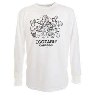 エゴザル(EGOZARU) Tシャツ メンズ 長袖 CAREER CARTOON ロング EZCLT...