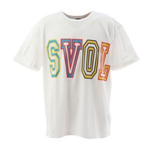 スボルメ(SVOLME) サッカー ウェア メンズ BIGロゴTシャツ 1201-48800WH (...