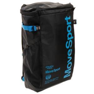 デサント(DESCENTE) リュック スクエアバッグM 30L バックパック ブラック ブルー DMAPJA04 BKBL (メンズ、レディース、キッズ)|SuperSportsXEBIO PayPayモール店