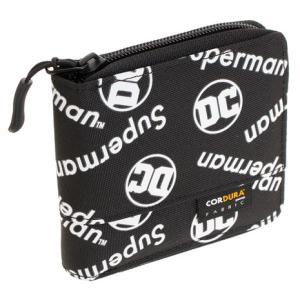 ディーシー(DC) イーカム スーパーマン 二折財布 WN-WLT05 BK (メンズ) SuperSportsXEBIO PayPayモール店