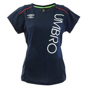 アンブロ(UMBRO) スウェット スポットレス半袖Tシャツ UMWLJA63 NVY (レディース)|SuperSportsXEBIO PayPayモール店