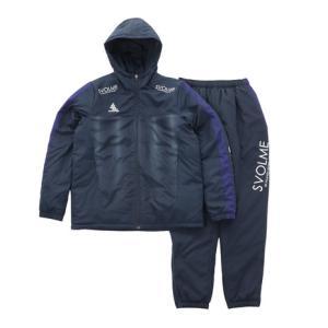スボルメ(SVOLME) サッカー ウェア メンズ 発熱中綿スーツ 1203-60609NY フット...