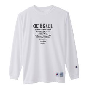 チャンピオン(CHAMPION) Tシャツ メンズ 長袖 DRYSAVER ロングスリーブシャツ C...