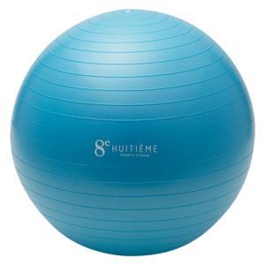 ウィッテム(HUITIEME) ジムボール 55cm HU18CM8414302 SAX (メンズ、レディース、キッズ)|SuperSportsXEBIO PayPayモール店
