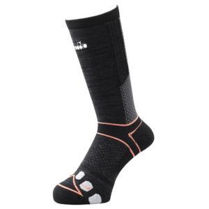 ディアドラ(diadora) テクノロジーソックス DTS0730-99 【 メンズ ソックス 靴下 テニス バドミントン 】 (メンズ)|SuperSportsXEBIO PayPayモール店