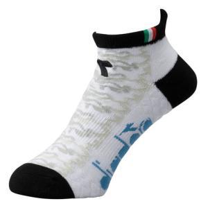 ディアドラ(diadora) ベリーショートソックス DTS0731-90 【 メンズ ソックス 靴下 テニス バドミントン 】 (メンズ)|SuperSportsXEBIO PayPayモール店