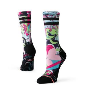 スタンス(STANCE) ランニングソックス ATHENA CREW 靴下 (メンズ、レディース) SuperSportsXEBIO PayPayモール店