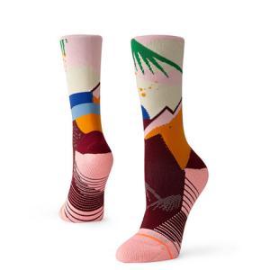 スタンス(STANCE) ランニングソックス OASIS CREW 靴下 (メンズ、レディース) SuperSportsXEBIO PayPayモール店