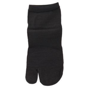 インナー・ファクト スキンソックス 足袋型 ショート丈 ブラック S-T-SB-M (Men's)