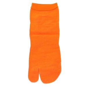 インナー・ファクト スキンソックス 足袋型 ショート丈 オレンジ S-T-SDO-L (Men's)