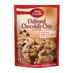ベティクロッカー オートミール チョコレートチップ クッキーミックス 496g【Betty Crocker】Oatmeal Chocolate Chip Cookie Mix 17.5 oz|supla