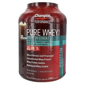 チャンピオンニュートリションピュアホエイプラスプロテインココアモカチーノ2.2kg【Champion Nutrition】PureWheyPlusProteinCocoaMochaccino 4.8lbs|supla