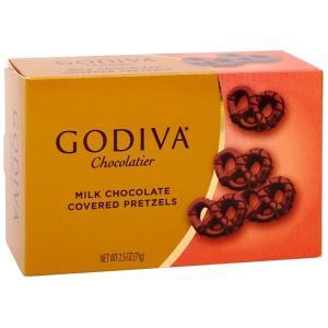 ゴディバ ミルクチョコレート カバープレッツェル 71g Milk Chocolate Covere...