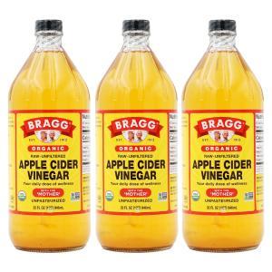 ブラグ オーガニック アップルサイダービネガー 946ml 3本セット   Bragg ORGANIC APPLE CIDER VINEGAR 946ml 3set supla