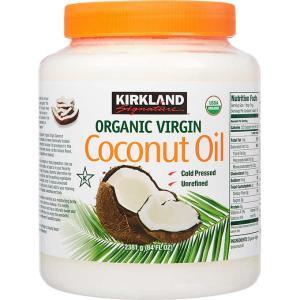 カークランドシグネチャー オーガニック ココナッツオイル 2381 g 【Kirkland Signature】Organic Coconut Oil 84 fl.oz|supla
