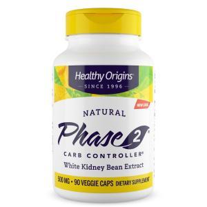 ヘルシーオリジン フェイズ2 500mg 90ベジカプセル 【Healthy Origins】Phase2  90 Veg capsules|supla