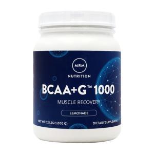 エムアールエム BCAA(分岐鎖アミノ酸) + G 1000 レモネード味 1000g  MRM  BCAA + G 1000, Lemonade, 2.2 lbs (1000g)|supla