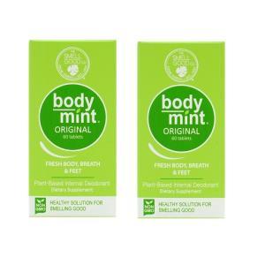 ボディミント フレッシュボディブレス&フィート オリジナル 60錠 2個セット【BodyMint】Fresh Body Breath & Feet, Original 60 Tablets 2set|supla
