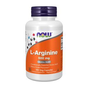 ナウフーズ L-アルギニン 500mg 100カプセル Now Foods L-Arginine 500 100 Capsules supla