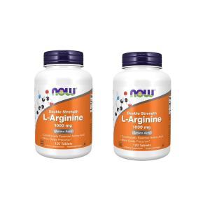 ナウフーズ Lアルギニン 1000mg 120錠 2本セット NOW FOODS L-Arginine 1000mg 120Tab 2set|supla