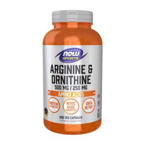 ナウスポーツ アルギニン&オルニチン 500/250mg 250錠 NOW SPORTS Arginine&Ornithine 500 / 250mg 250 Caps|supla