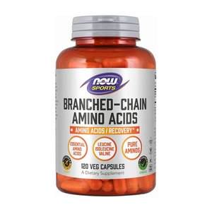 ナウスポーツ 分岐鎖アミノ酸 120錠 NOW SPORTS Branched Chain Amino Acids 120CAP|supla