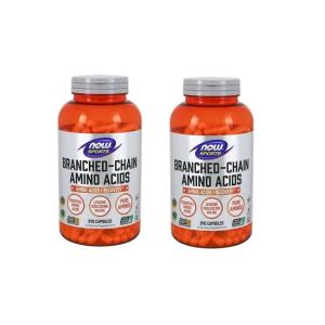 ナウスポーツ 分岐鎖アミノ酸 BCAA 240錠 2本セット NOW SPORTS NOW FOODS BRANCHED CHAIN AMINO ACIDS BCAA 240CAP 2set|supla