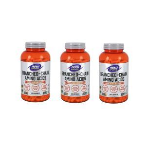 ナウスポーツ 分岐鎖アミノ酸 BCAA 240錠 3本セット NOW SPORTS NOW FOODS BRANCHED CHAIN AMINO ACIDS BCAA 240CAP 3set|supla