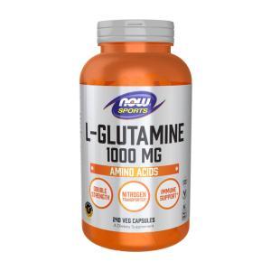 ナウフーズ L-グルタミン1000 mg 240カプセル NOW FOODS L-Glutamine 1,000 mg 240 Capsules|supla