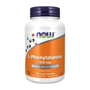 ナウフーズ  L-フェニルアラニン 500mg 120ベジカプセル Now Foods L-Phenylalanine 500 120 Veg Capsules|supla