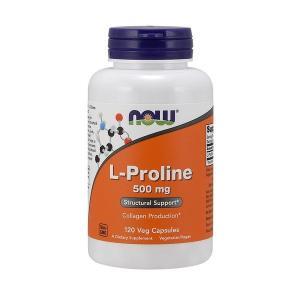 ナウフーズ エルプロリン 500mg 120ベジカプセル Now Foods L-Proline 500 120 Vcaps|supla