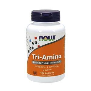 ナウフーズ トリ-アミノ 120カプセル Now Foods Tri-Amino 120 Capsules|supla
