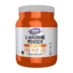ナウフーズ L-アルギニンパウダー 1kg NOW FOODS L-Arginine Powder 1 kg supla
