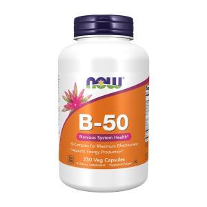 ナウフーズ ビタミンB-50 250錠 NOW FOODS Vitamin B-50 250 Veg Capsules|supla