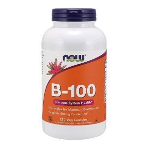 ナウフーズ ビタミンB-100 250ベジカプセル Now Foods B-100 250 Veg Capsules supla